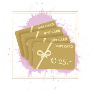 Giftcard € 25,-